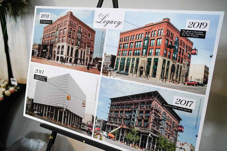 The stages of the Legacy's redevelopment
