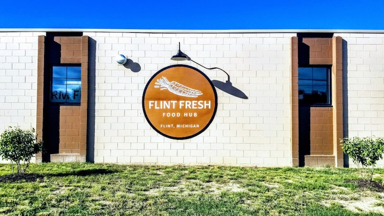 Flint Fresh emerged from discussions between nonprofits and businesses in the Flint area that were looking to address the effects of lead contaminated water.