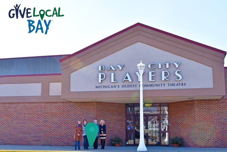 The Bay City Players was one of the organizations that benefitted from a record-setting Give Local Bay fundraiser this month.