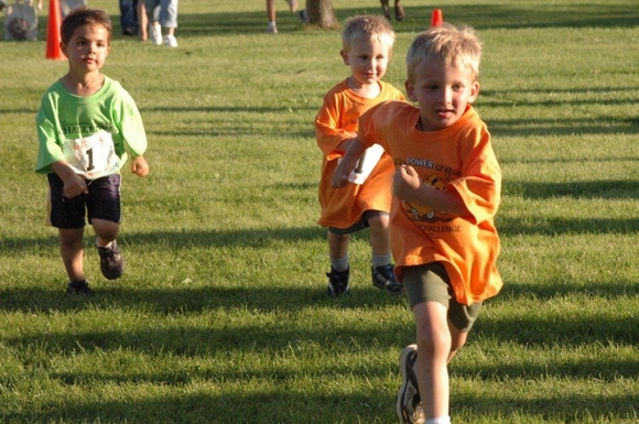 The CheeseTown Challenge includes a special race for kids.
