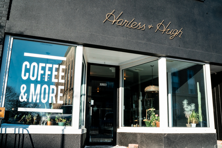Harless + Hugh Coffee on 1003 Washington Avenue in Bay City.