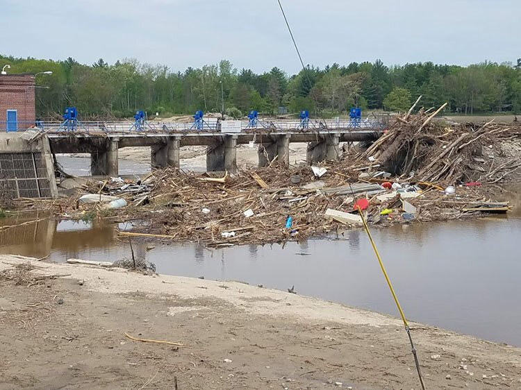 Almost six months have passed since two dams were breached, including this one in Sanford.