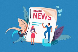 Health journalism infographic