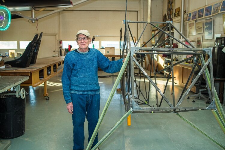 For six decades, Jon Staudacher, has built innovative airplanes, boats, and race cars, attracting global attention.