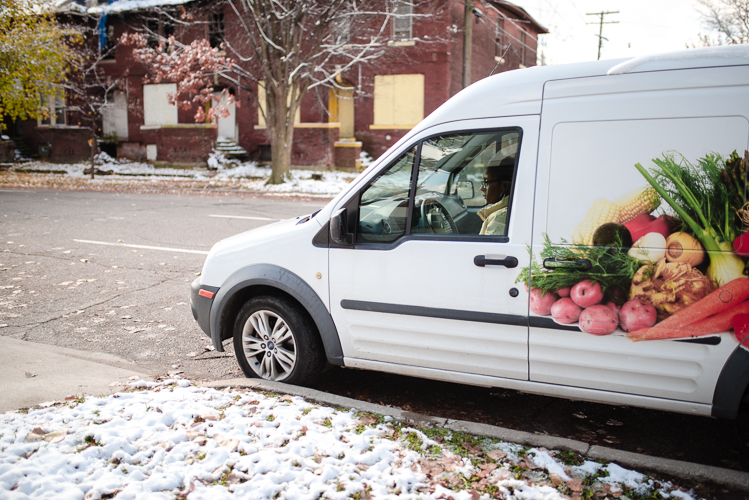 Mobile delivery is part of Peaches & Greens' business model.