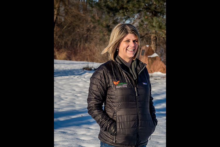Lisa Cleland, Associate Director of the Saginaw Bay Land Conservancy