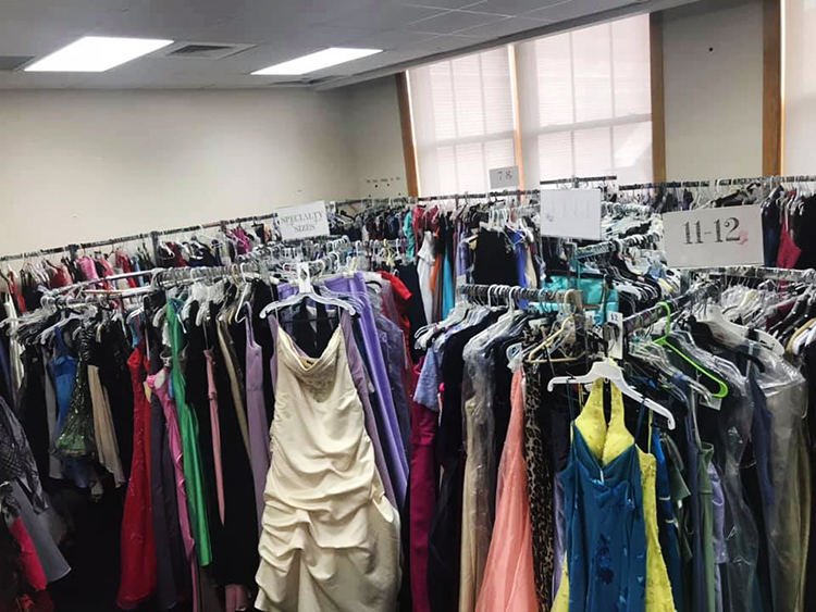The Becca's Closet room at Bay City Central