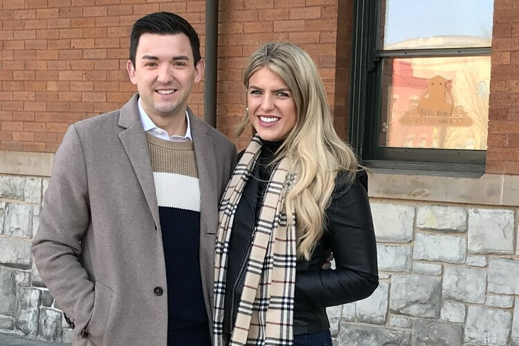 Mitchell and Mallory Rivard, who grew up in Bay County, now serve the state in very different ways.