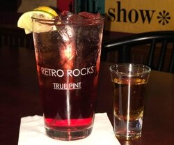 Retro Rocks drink