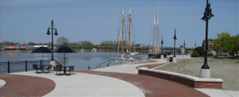 Bay City's waterfront is a strong asset in attracting developers.