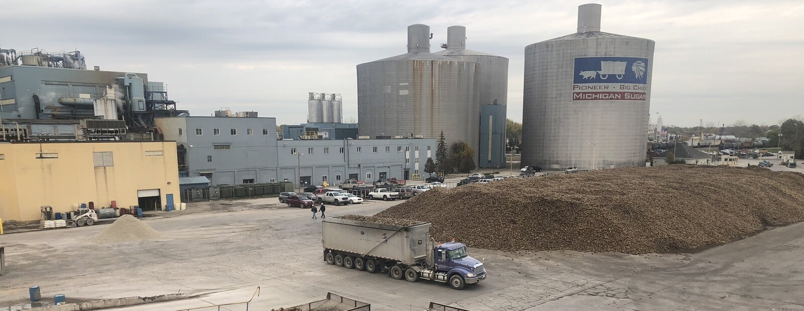 Michigan Sugar processes 1.6 million tons of sugar beets each year at its 2600 S. Euclid Ave. location in Bay City. The state is now considering a study on how to use the waste from that processing to de-ice roads.