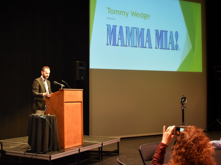 Tommy Wedge, Assistant Professor of Theatre at SVSU will direct the production of Mama Mia! this fall.