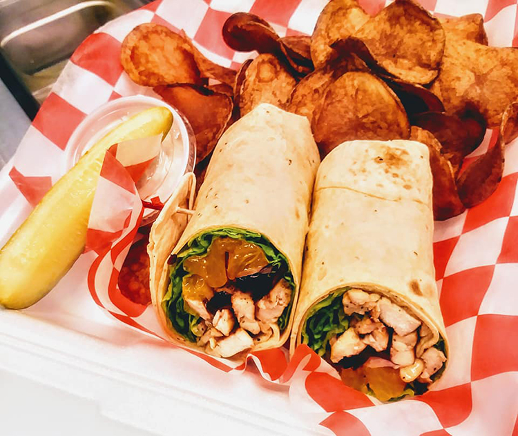 Offering both made-to-order and specialty wraps, diners can customize their wraps or can order from Grischke's unique take on the wrap genre.