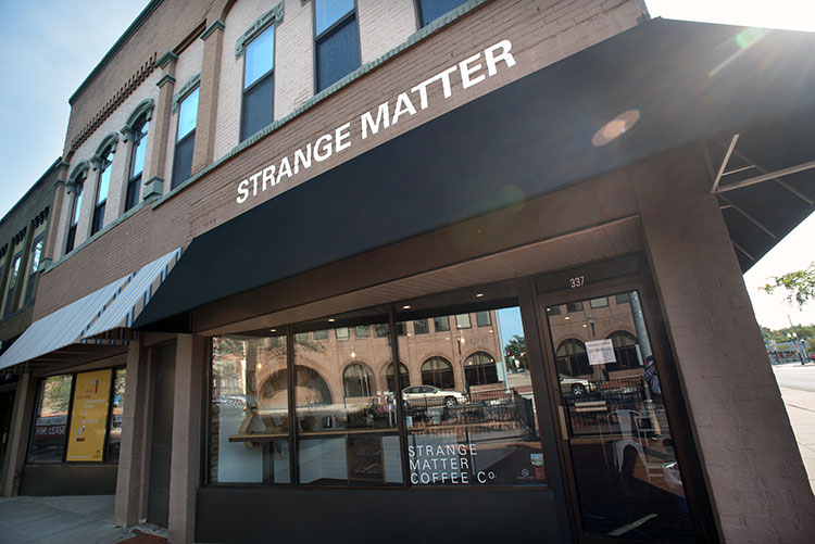 Strange Matter Coffee in downtown Lansing - Photo Dave Trumpie