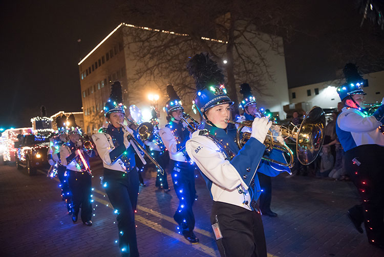 Silver Bells in the City - Photo Dave Trumpie
