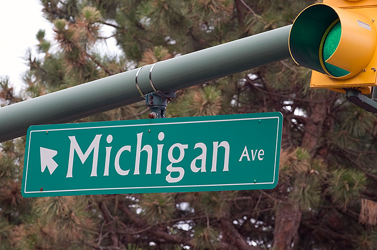 Michigan Avenue - Photo Dave Trumpie