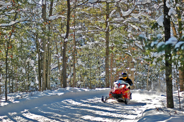 Snowmobiling/Photos courtesy of TC Tourism
