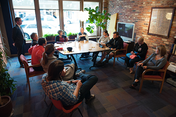 Underground of Good meeting at Such Video - Photo Dave Trumpie