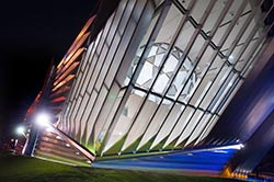 the Eli and Edythe Broad Art Museum  - Photos Dave Trumpie