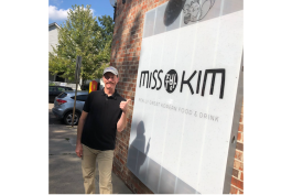 Under the Radar Michigan host Tom Daldin outside the Ann Arbor restaurant Miss Kim