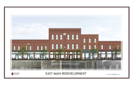 East Main Redevelopment rendering