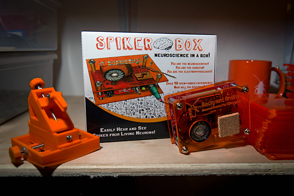 The SpikerBox by Backyard Brains