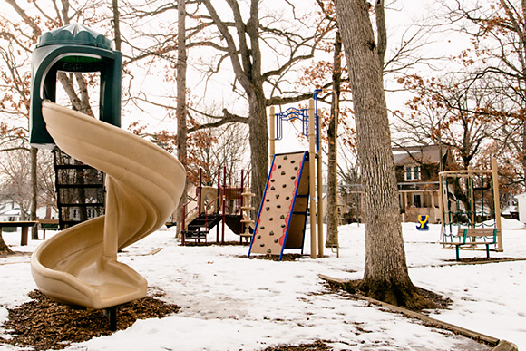One of 90 Kids Playgrounds in Ann Arbor