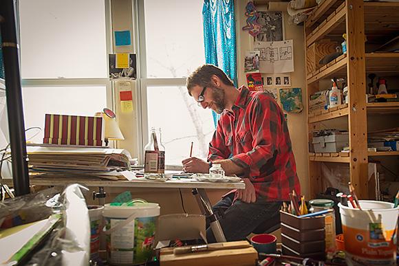 cool jobs  bruce worden  science illustrator  comic book creator