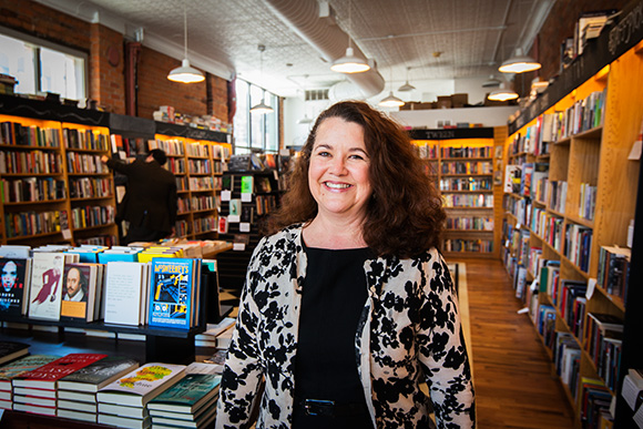 Ingrid Ault of Think Local First at Literati