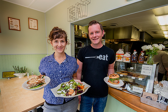 Helen Harding and Blake Reetz at eat