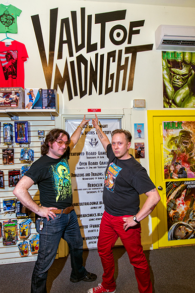 Jeremy Wheeler and the Vault of Midnight's Curtis Sullivan