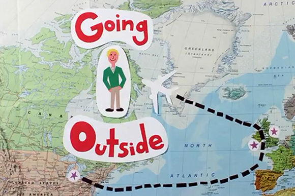 The Going Outside opening title