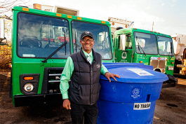 Curbside Recycling Manager Allen Kennedy at Recycle Ann Arbor