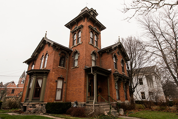 For the price of an average home in Ann Arbor you could buy a larger historic home in Ypsilanti
