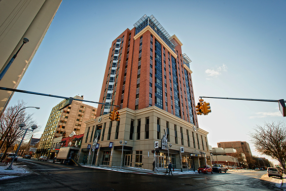 The Zaragon West Development in downtown Ann Arbor