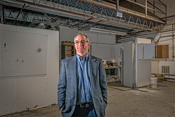 Mark Smith At His Future Startup Incubator In Ann Arbor