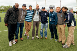 AFC Ann Arbor owners at Hollway Field