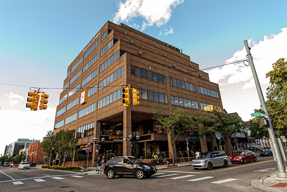 Office space in downtown Ann Arbor at 301 E. Liberty.