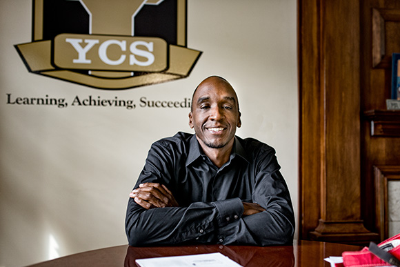 Dr. Benjamin Edmondson at his YCS office