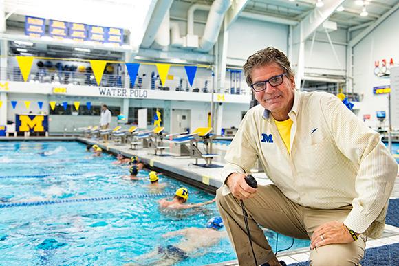 mike bottom swim coach switch support