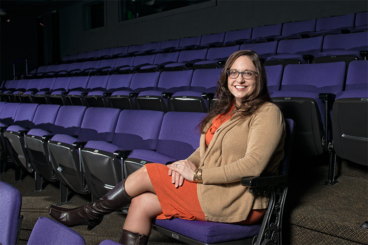 Managing Director Katie Doral at The Purple Rose Theatre Company