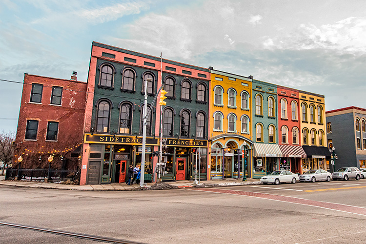 Depot Town in the Ypsilanti Historic District