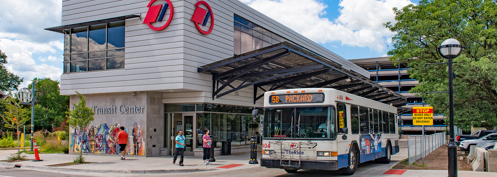 Blake Transit Center in Ann Arbor