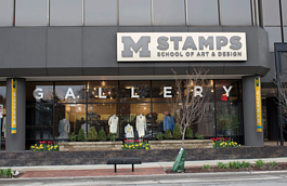 The site of the new Stamps Gallery at McKinley Towne Centre.