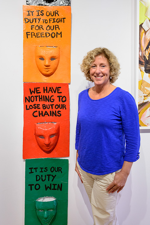 Ann Arbor Art Center President and CEO Marie Klopf