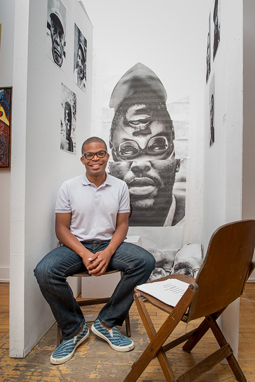 Ann Arbor Art Center Director of Community Engagement Omari Rush