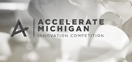 Accelerate Michigan logo.