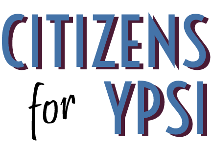 Citizens for Ypsi logo.