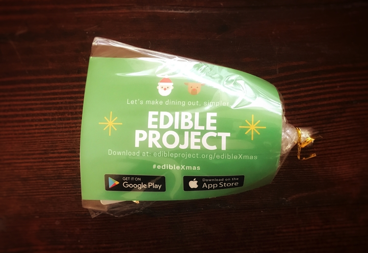 An Edible Project care package.