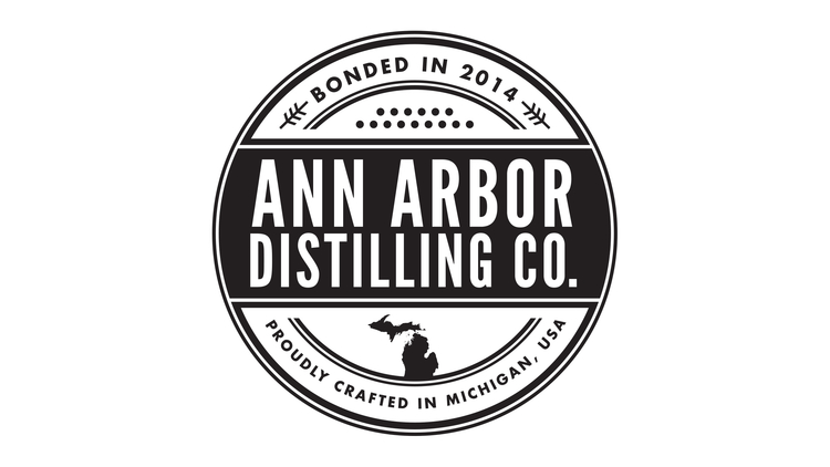 Ann Arbor Distilling Co. logo.